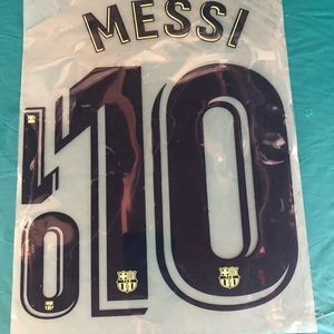 Other - Messi Barcelona Away sticker